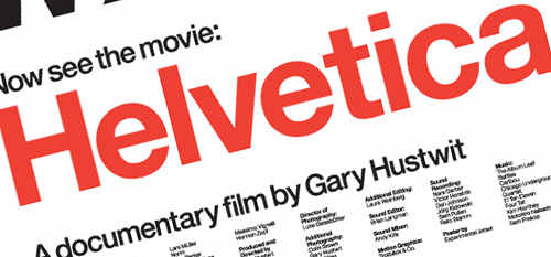 helvetica film Film premiere wednesday, march 14th, 2007 screening #1 after a year and a half of filming, traveling, editing, and stressing, the world premiere of helvetica happened.