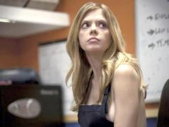 "Dreama Walker stars as Becky in ""Compliance."""