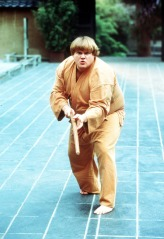 I love Chris Farley as much as anyone but even I think that reviewer is crazy.